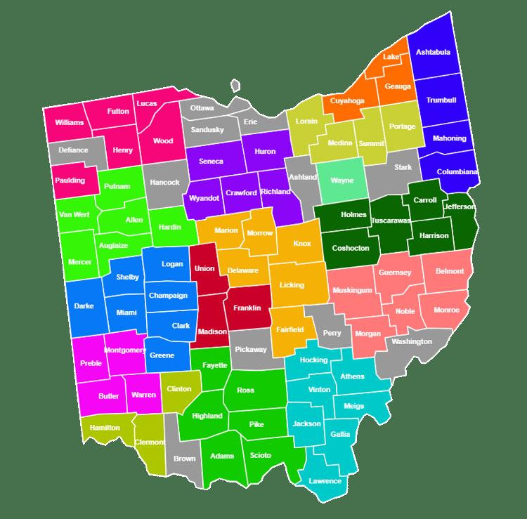 Ohio District Map